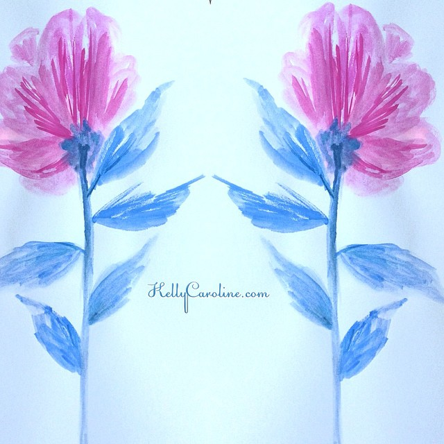 Growth & change are a part of life. You wouldn't be the person you are today without growth & change. We are creatures of habit so change can hurt, but thinking about the forward progress makes the process worth it.#colors #pink #blue #flowers #peonies #leaves #mirror #growing #ypsi #ypsilanti #michigan #kellycaroline #art #artist #design #watercolor #watercolors #painting #sketchbook #journal #dscolor