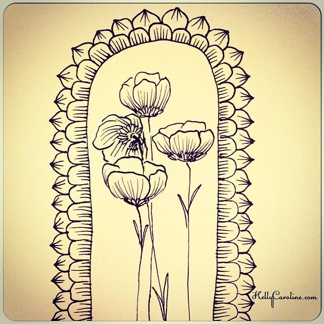Grow up #drawing #ink #peony #flowers #sketchbook #sketch #art #artist #draw #leaves #kellycaroline #ypsi #ypsilanti #michigan #henna #tattoo #tattoos #tattoodesign #design #blackandwhite