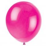 magenta balloons