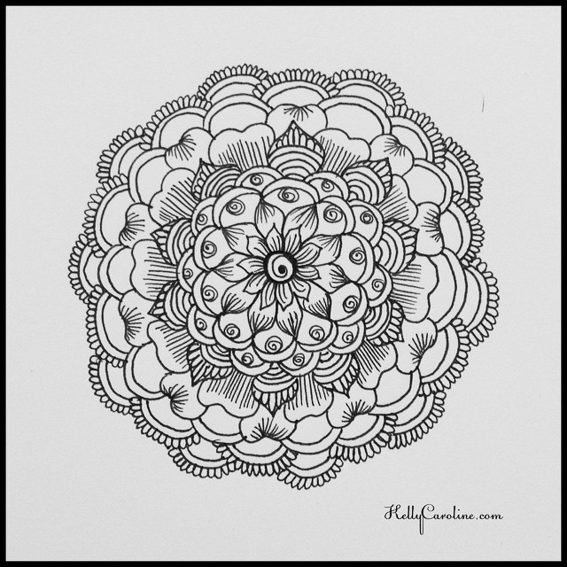A little mandala practice before my salon appointments tomorrow. #henna #hennaartist #hennatattoo #tattoo #tattoos #kellycaroline #tattoodesign #mandala #symmetry #art #artist #draw #drawing #michigan #michiganinstagrammers #detroit #ypsi #ypsilanti #annarbor #floral #flower #india #ink