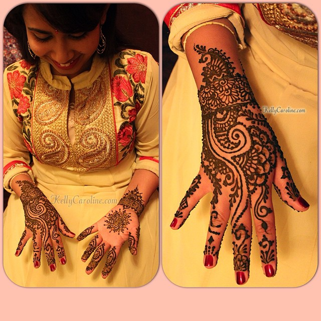 An elegant and traditional Mehndi party for a lovely Indian bride to be