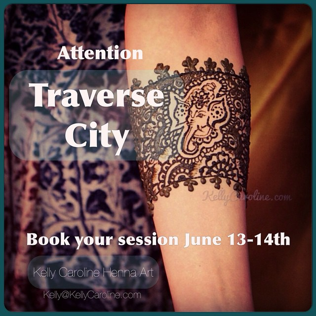 Attention Traverse City :: I will be in Traverse City June 13-14th - book your private appointment & event now to reserve your spot! #henna #hennas #hennaartist #mehndi #traversecity #michigan #detroit #design #kellycaroline #vacation #michiganinstagrammers #summer #elephant #tattoo #tattoos #tattoodesign #ink #hennatattoo #downtowntc