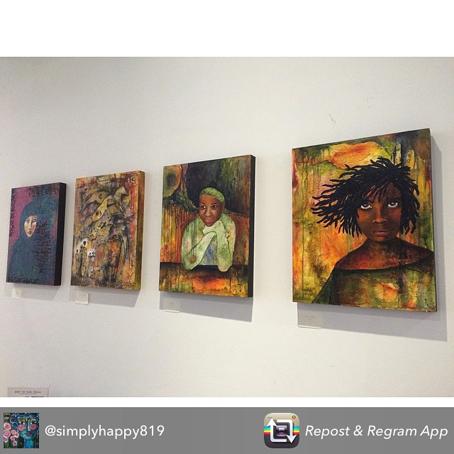 ️️Attention anyone near the St. Paul Minnesota area! @simplyhappy819 Terri Churchill's gallery opening is tomorrow (Thursday April 16th) at the entrance of FiveTwoSix Salon between 5-7pm. If you're able to make it to the opening, she is giving away three 10×10 inch prints of her artwork! Be sure to check it out - the show runs from April 16th-June 28th. #stpaul #minnesota #art #artist #terrichurchill #gallery #opening #event #oilpainting #painting #paints #canvas #prints #portrait #fivetwosixsalon #fivetwosix #salon #colorful #color #vibrant