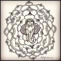 Michigan henna, henna michigan, elephant henna, elephant tattoo, tattoo design, tattoos , mandala