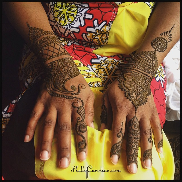 Bridal henna from yesterday for a bride getting married in Ann Arbor.
