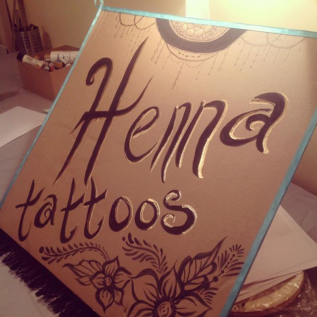 A sneak peak at my newest henna sign ! Look for it at the Arab & Chaldean festival at Hart Plaza in Detroit this weekend aug 1-2 and then next weekend aug 8-9 at @diypsi in Ypsi