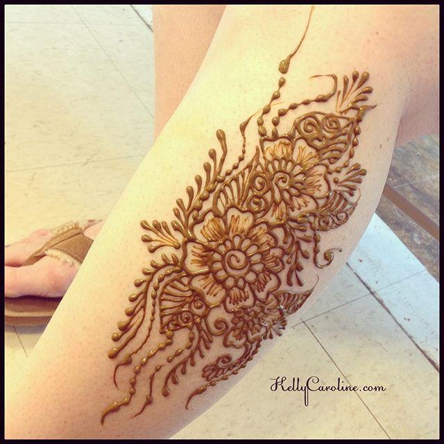Henna this weekend for a friend of @alchemyhenna