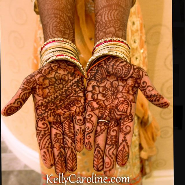 A sneak peek at the gorgeous Indian wedding I did mehndi for ️ second time I have gotten to work with this amazing family and their group of friends. More pictures to follow #henna #mehndi #stain #hennadesign #hennaartist #india #indianwedding #desi #design #wedding #annarbor #ypsilanti #ypsi #kellycaroline #mehndiartist #fashion #flower #bangles #yellow #organic #hennas #tattoo #tattoos #sangeet #bride #designs #art
