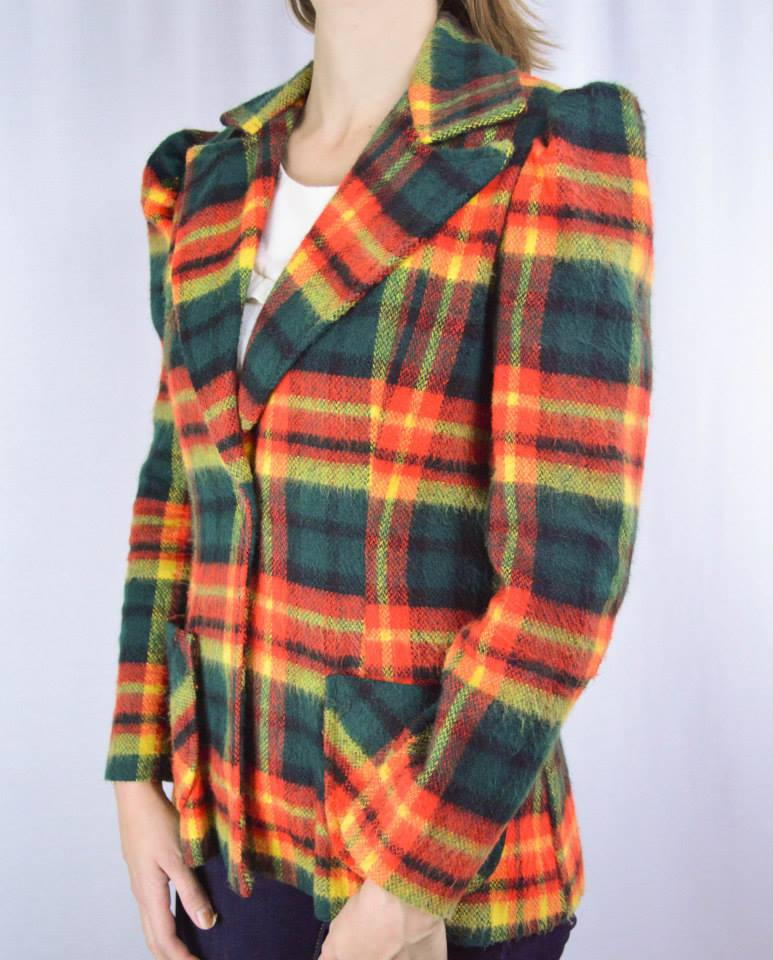 Britzy Thrifty vintage fall jacket on Etsy