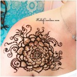 kelly caroline henna art, henna artist michigan, henna tattoo design, tattoos, henna tattoo design with mandala