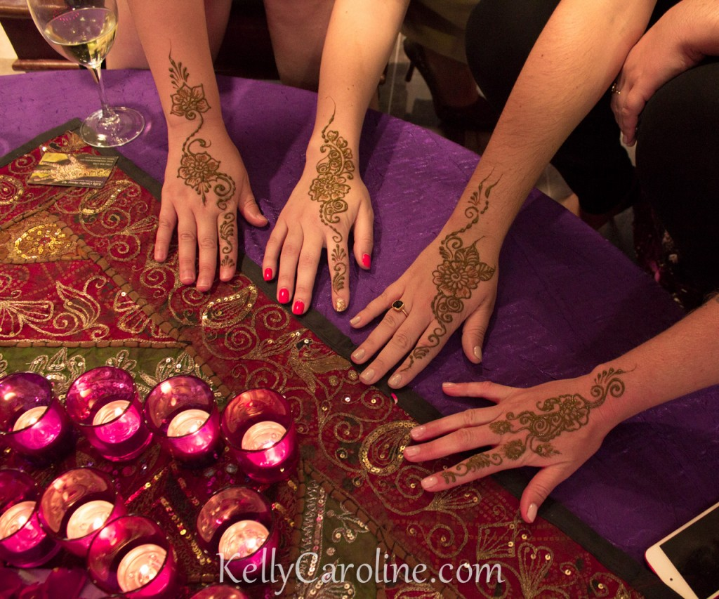 Michigan henna artist Kelly Caroline - henna for Indian wedding