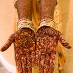 Indian wedding henna by Michigan henna artist Kelly Caroline