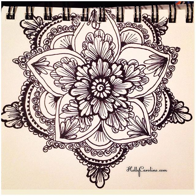 Found an old mandala sketch in my photos #henna #hennas #drawing #draw #mandala #blackandwhite #sketch #sketchbook #ink #pen #flower #flowers #mehndi #mehndidesign #kellycaroline #michigan #michiganartist #ypsi #ypsilanti #detroit #artist #hennaartist #tattoo #tattoos #yoga #yogi