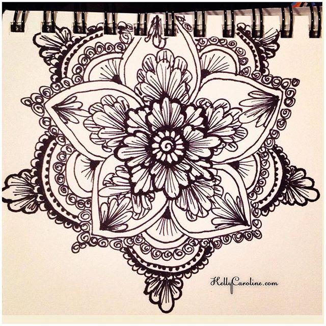 Found an old mandala sketch in my photos #henna #hennas #drawing #draw #mandala #blackandwhite #sketch #sketchbook #ink #pen #flower #flowers #mehndi #mehndidesign #kellycaroline #michigan #michiganartist #ypsi #ypsilanti #detroit #artist #hennaartist #tattoo #tattoos #yoga #yogi