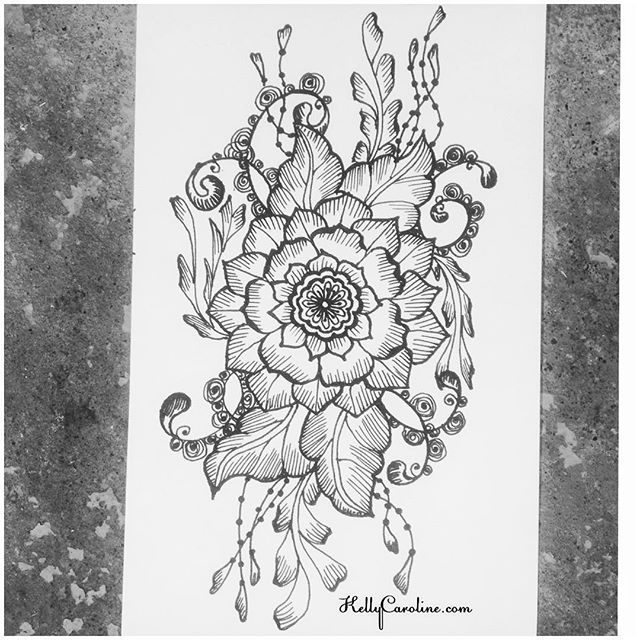 A new henna tattoo design #tattoodesign #henna #hennas #ypsi #ypsilanti #michigan #michiganartist #kellycaroline #mehndi #mehndidesign #tattoo #tattoos #tattoodesigns #drawing #mandala #flower #flowers #ink #yoga #yogi #sketch_daily #artstagram #instartlovers #art_spotlight #justartspiration #arts_help #art_worldly