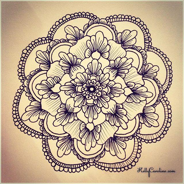 Mehndi Designs Mandala : Henna mandala makedes