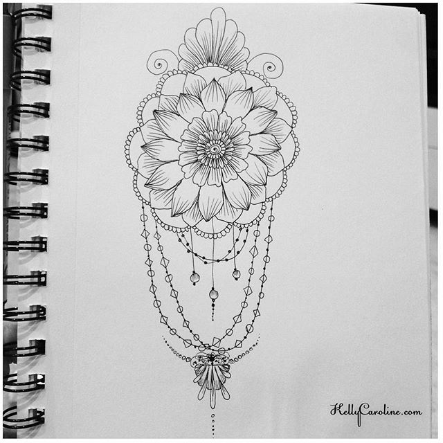 A new mandala henna design from my sketchbook last night #tattoodesign #henna #hennas #ypsi #ypsilanti #detroit #michigan #michiganartist #kellycaroline #mehndi #mehndidesign #tattoo #tattoos #tattoodesigns #drawing #mandala #flower #flowers #ink #yoga #yogi #sketch_daily #artstagram #instartlovers #art_spotlight #justartspiration #arts_help #art_worldly