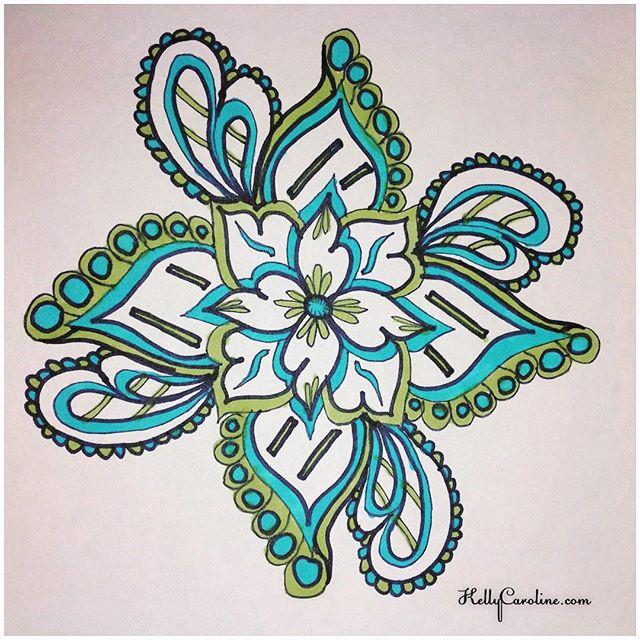 One of my drawings from when I was on bedrest for 4 months in 2009 #tattoodesign #henna #hennas #ypsi #ypsilanti #detroit #michigan #michiganartist #kellycaroline #mehndi #mehndidesign #tattoo #tattoos #tattoodesigns #drawing #mandala #flower #flowers #ink #yoga #yogi #sketch_daily #artstagram #instartlovers #art_spotlight #justartspiration #arts_help #art_worldly