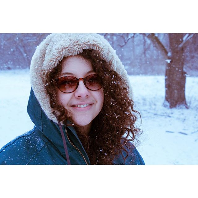 Very rare to post a photo of non-henna / non-art but sometimes.. its a me  #kellycaroline #winter #notaselfie #michigan #ypsi #ypsilanti #puremichigan #snow #michiganartist