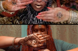 Beyonce Henna Design