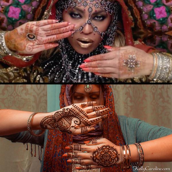 Beyonce Henna Design Kelly Caroline
