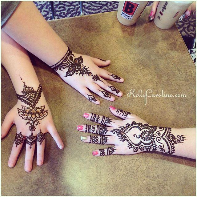 Henna today for @ruby.tho @bby.angelina_ & @ooawesomeoo Classy, hand henna designs in Canton #henna #hennas #hennaartist #kellycaroline #michigan #michiganartist #dearborn #dearbornheights #mehndi #mehndidesign #tattoo #tattoos #ink #organic #hennadesign #hennatattoo #hennatattoos #flower #flowers #yoga #yogi #mandala #art #artist #ypsi #ypsilanti #detroit