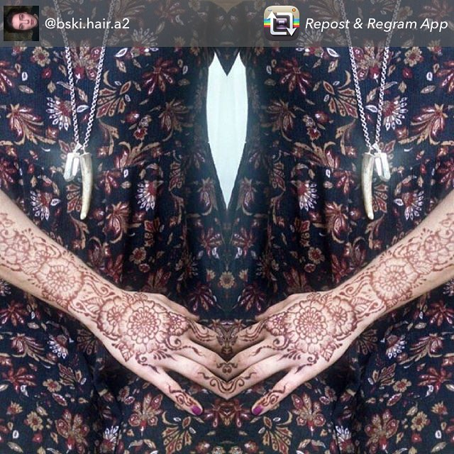 Repost from @bski.hair.a2 princess style hand henna design – necklace by @world_of_rocks_ypsi appointments available Monday-Saturday 2-5:30pm call 734-536-1705 or email kelly@kellycaroline.com . . . .