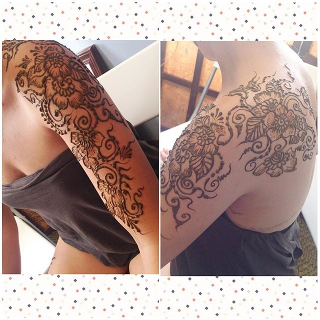 Front and back pictures of Two sides from @halfpintdreamer 's henna piece on her arm yesterday in the studio . . private appointments available Monday-Saturday 2-5:30pm call 734-536-1705 or email kelly@kellycaroline.com #henna #hennas #hennaartist #kellycaroline #michigan #michiganartist #dearborn #dearbornheights #mehndi #mehndidesign #tattoo #tattoos #ink #organic #hennadesign #hennatattoo #hennatattoos #flower #flowers #yoga #yogi #mandala #art #artist #ypsi #ypsilanti #detroit #electricforest #ef2016