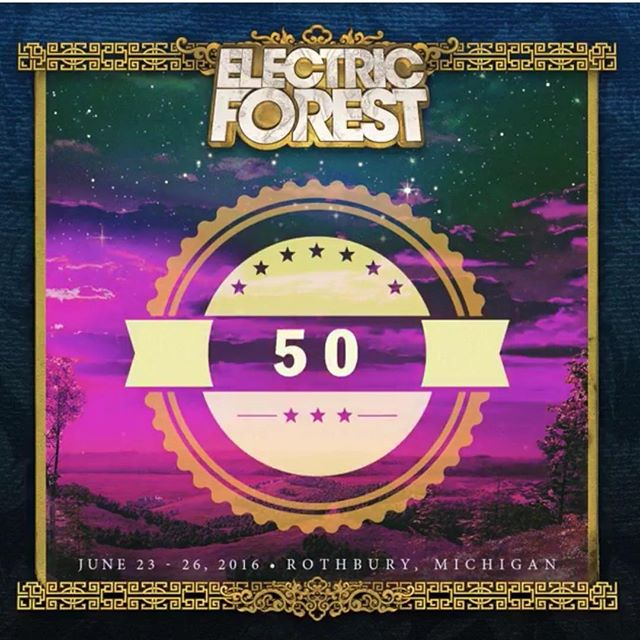 Only 50 DAYS until Electric Forest ! We are beyond excited to join the forest family this year and do henna for all you lovely people to all those joining us for @electric_forest , see you there!! Come see us to get your henna ️. . .