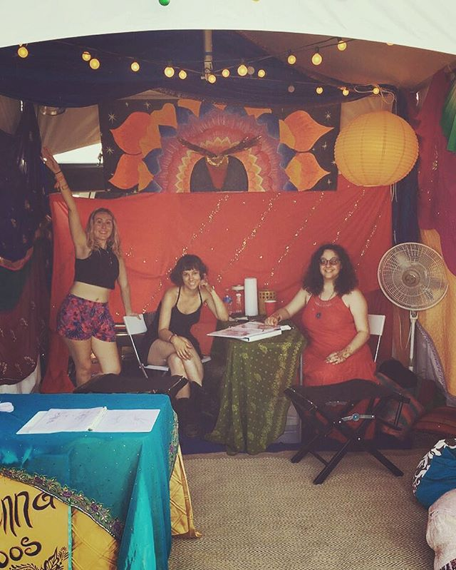 HENNA BY KELLY CAROLINE . All set up and having a great time meeting everyone as they arrive here at @electric_forest . Come see us to get your #henna! We are across from the food in GA camping! . #electricforest #edm #edmlife #hennaartist #michigan #tattoo #tattoos #ink #organic #flower #flowers #yoga #yogi #mandala #art #artist #ypsi #ypsilanti #detroit #rothbury #ef2016 #edmgirls #edmlifestyle #efhenna #kellycaroline #electricforesthenna #fueltheforest