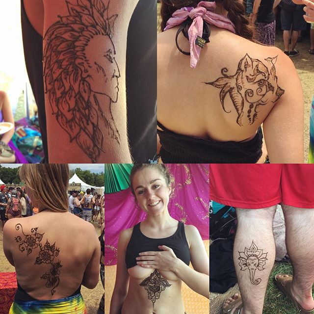 Loving all the different styles people are getting at @electric_forest! We are really enjoying ourselves️ Be sure to come by and see us for your #henna!  We are across from all the food vendors in GA camping. . . . #electricforest #edm #edmlife #hennaartist #michigan #tattoo #tattoos #ink #organic #flower #flowers #yoga #yogi #mandala #art #artist #ypsi #ypsilanti #detroit #rothbury #ef2016 #edmgirls #edmlifestyle #efhenna #kellycaroline #electricforesthenna #fueltheforest