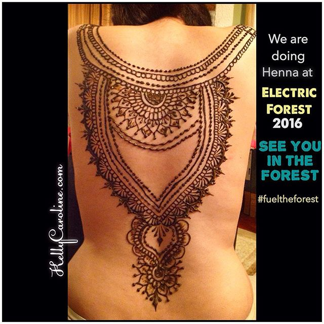 We are thrilled to be joining @electric_forest this year doing henna body artwork for all of you there! I cannot say enough how much peace and energy I get from doing beautiful art that is unique to each person! Doing what I love has been what fuels me for these past 9 years of doing henna and I know the excitement and passion I will feel meeting everyone in such a fun and united environment will be amazing! That is #fueltheforest for me! . . Come see us to get your henna ️. . . #edm #edmlife #electricforest #henna #hennaartist #michigan #tattoo #tattoos #ink #organic #flower #flowers #yoga #yogi #mandala #art #artist #ypsi #ypsilanti #detroit #rothbury #ef2016 #edmgirls #edmlifestyle