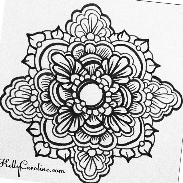 A black and white henna mandala from my sketchbook last night #tattoodesign #henna #hennas #ypsi #ypsilanti #detroit #michigan #michiganartist #kellycaroline #mehndi #mehndidesign #tattoo #tattoos #tattoodesigns #drawing #mandala #flower #flowers #ink #yoga #yogi #sketch_daily #artstagram #instartlovers #art_spotlight #justartspiration #arts_help #art_worldly #blxckmandalas