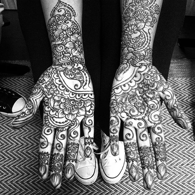 some wedding henna today in the studio love is in the air ! . . . . Time to treat yourself. Grab a friend and come into the studio this week . . private appointments available Monday-Saturday 2-6:30pm call 734-536-1705 or email kelly@kellycaroline.com