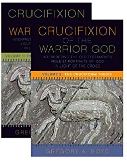 crucifixion of the warrior god by greg boyd, fortress press publishers