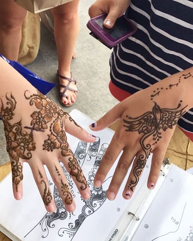 TODAY! Excited to do henna at @tonupypsi TODAY noon-2pm! See you there!!
