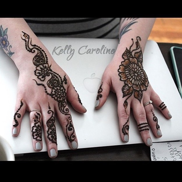 Taking henna appointments in the studio Wednesday 3-4:30pm email for an appointment kelly@kellycaroline(dot)com for henna in the studio ::