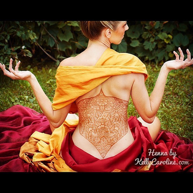 Want a sexy back henna design? Perfect gift for that special someone in your life- secret sexy henna! Call 734-536-1705 for your appointment Sunday, February 11th $10 off when you spend $45. Limited availability for appointments so reserve yours now! email kelly@kellycaroline.com