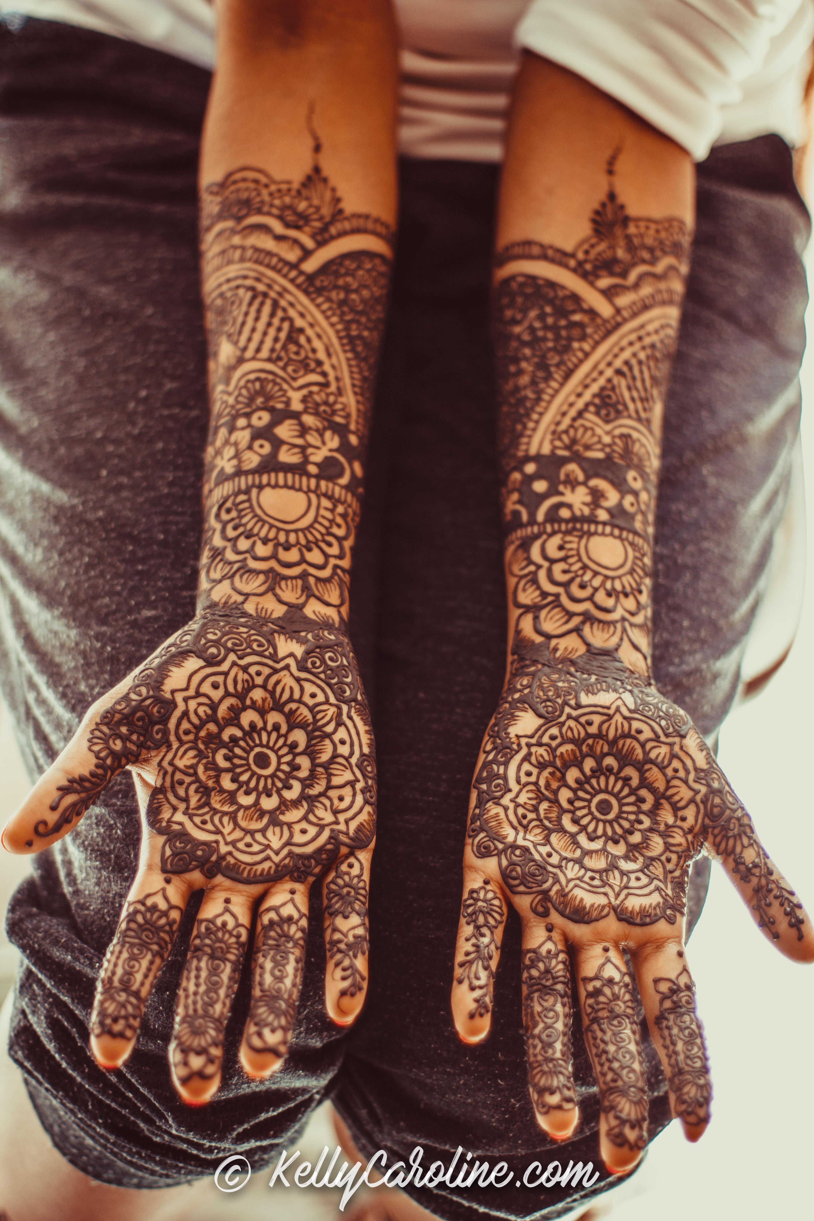 South Indian Wedding Henna