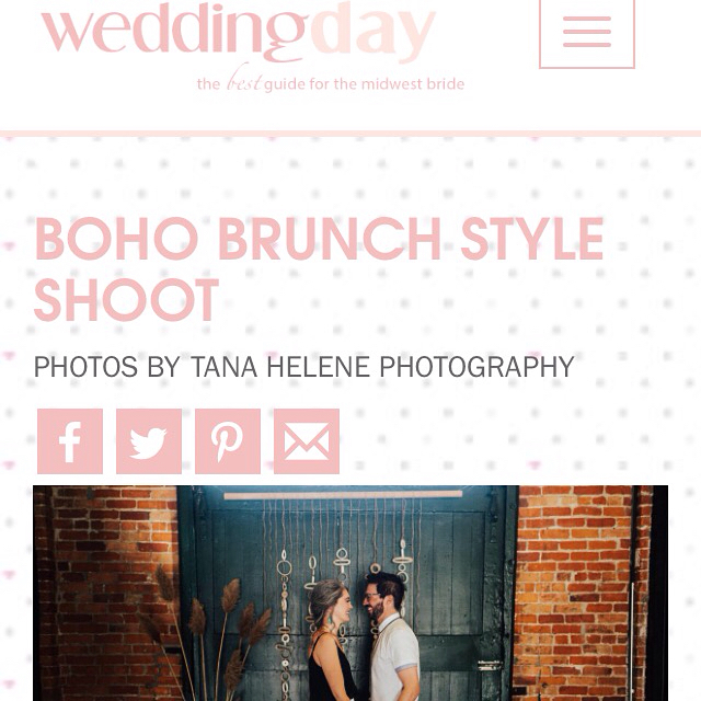 CHEERS TO @weddingdaymagazine for this LOVELY feature of our boho brunch photoshoot ! Thank you to everyone involved - this was a success because of your creativity & spirit ! LINK IN BIO  . #henna #hennas #ypsi #ypsilanti #detroit #michigan #michiganartist #kellycaroline #mehndi #mehndidesign #tattoo #tattoos #tattoodesigns #mandala #hennapro #flowers #ink #wedding #michiganwedding #artstagram #instartlovers #photoshoot #boho #hennastain #bohemian Venue: @ypsifreighthouse Jewelry: @courtneyfischerjewelry Wedding attire: @detroitbridalhouse Henna: @henna_by_kelly_caroline Styling & Decor : @birchaffair Models: @brittanyannmiller @drew_boro @shalisabird @jade_antoinettte @kevinsmigielski Hair: @unwindannarbor Makeup: @fudge.beauty Guest attire: @birch_elm Table linens: @rosemarinetextiles Ceramics: @make.do.studio Dessert: @goodcupcakesco Photography: @tanahelene Furniture : @jessica.co.vintage Textiles: @thegoodrug Glassware: @gigiandlaclede