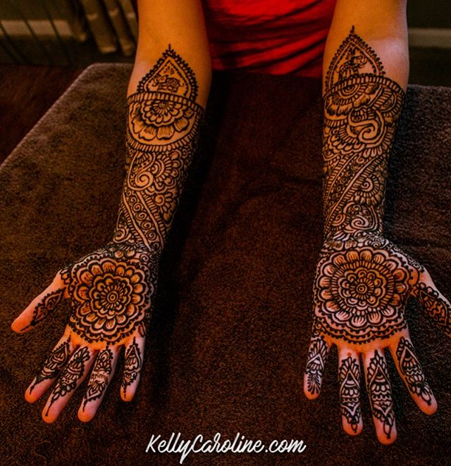 Today's bride -wanted full floral - just my style! . . . Kelly@kellycaroline.com #henna #hennas #hennaartist #kellycaroline #michigan #michiganartist #dearborn #southasianbride #southasianwedding #indianwedding #desi #weddinghenna #dearbornheights #mehndi #mehndidesign #canton #tattoos #ink #hennadesign #hennatattoo #hennatattoos #flowers #yoga #yogi #mandala #desiwedding @maharaniweddings #annarbor #annarbormichigan #mehndi