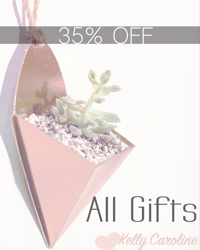 CYBER MONDAY!! 35% OFF everything in our new shop! Link in PROFILE . . Handmade succulent planters that come with plants straight to your door for the perfect gift for you or someone you love! . . . #cybermonday #florals #couponcommunity #ypsi #ypsilanti #annarbor #michigan #plymouth #cantonmi #succulents #smallbusiness #succulentsofinstagram #holidaygifts #rosegold #couponing #handmade #giftideas #etsy #gifts