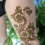 sexy henna, sexy henna design, henna design on thigh, henna on thigh, henna design