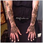 bridal henna artist michigan, Indian bridal henna, Indian wedding henna design
