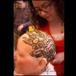 henna crowns, henna for cancer, alopecia, henna design, henna design on the hand, henna, mehndi, vines, michigan, kelly caroline, henna michigan, tattoo